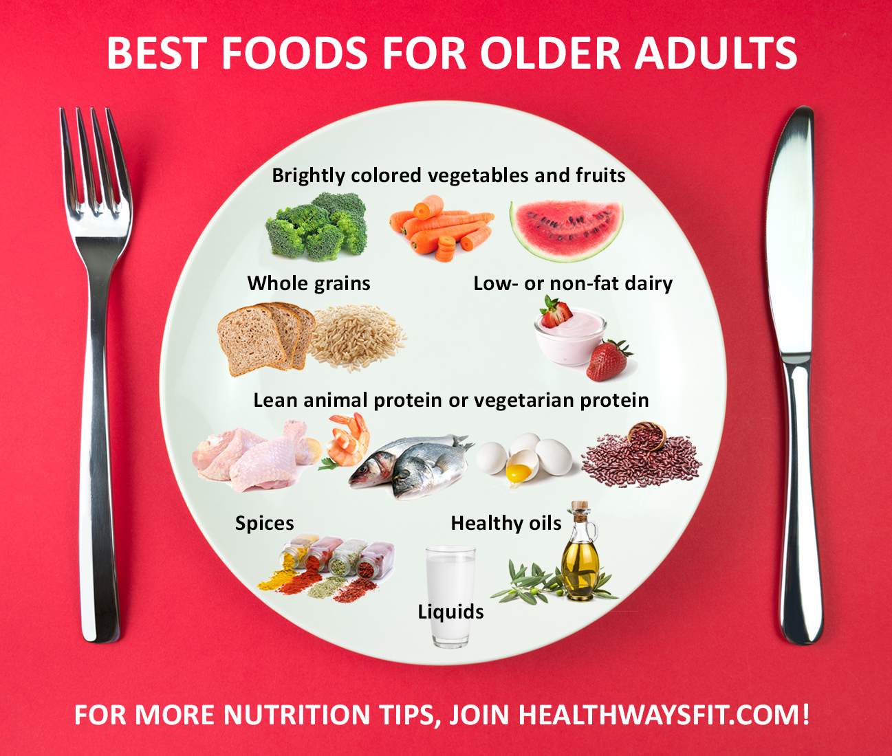 Fantastic Healthy eating for older adults share